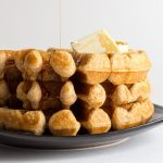 Waffles for Three - Can be topped with most anything...