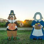 The friendly pilgrims..
