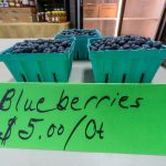 We've got a small quantity of blueberry quarts available...