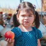 Brisa & Her Apple!
